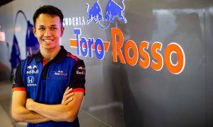 Albon: Formula E test 'useful' for entry into F1