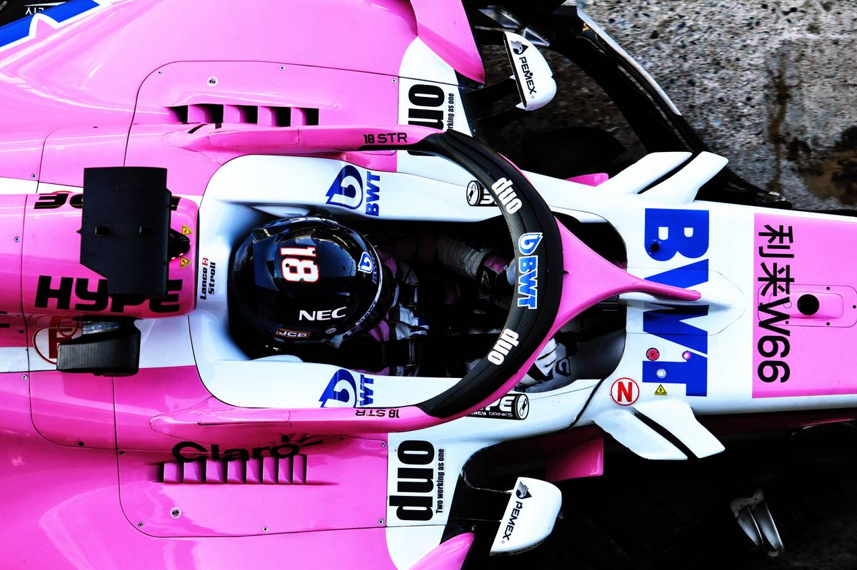 Lance Stroll (CDN) Racing Point Force India F1 VJM11.
