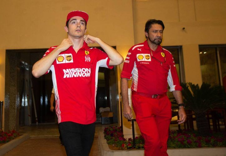 Charles Leclerc (MON) Ferrari. 28.11.2018.