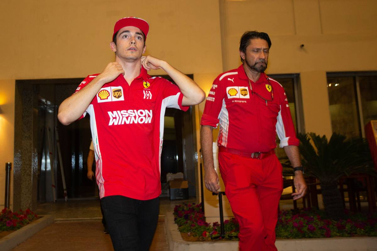 Charles Leclerc (MON) Ferrari. 28.11.2018. Formula 1 Testing, Yas Marina Circuit, Abu Dhabi, Wednesday.