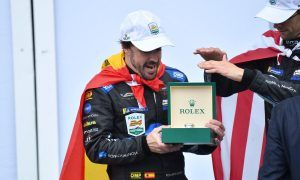 Fernando Alonso's wet and wild Rolex 24 in pictures