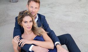 Baby Button on its way for Jenson and Britt