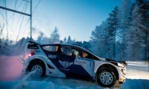 Bottas concludes Arctic Lapland Rally fifth - claims stage win