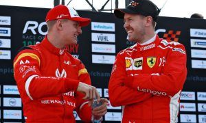 Vettel on Schumacher Jnr: 'We must let Mick do his thing'
