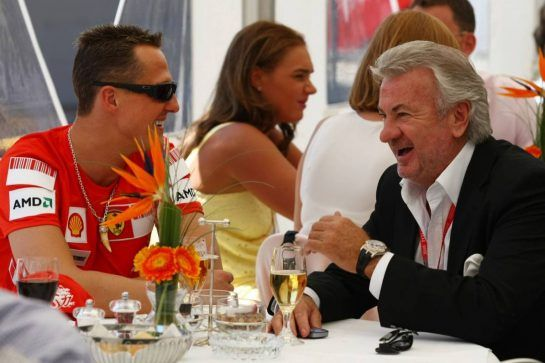 Wherever one found Schumacher, Willi Weber was never far away. The shrewd German manager looked after his protégé's interests with great success, bringing fortune to both.