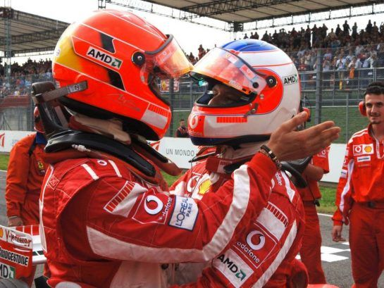 Those team mates that measured up against the great Schumacher were few and far between, but Rubens Barrichello's efforts during his tenure alongside the German ace weren't without merit.