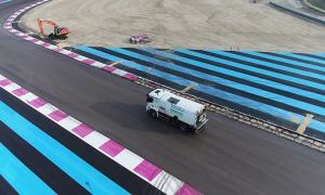 Whiting visits Paul Ricard after changes to French GP venue