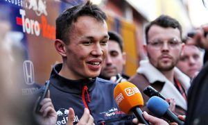 First proper F1 test will leave Albon 'smiling through the night'