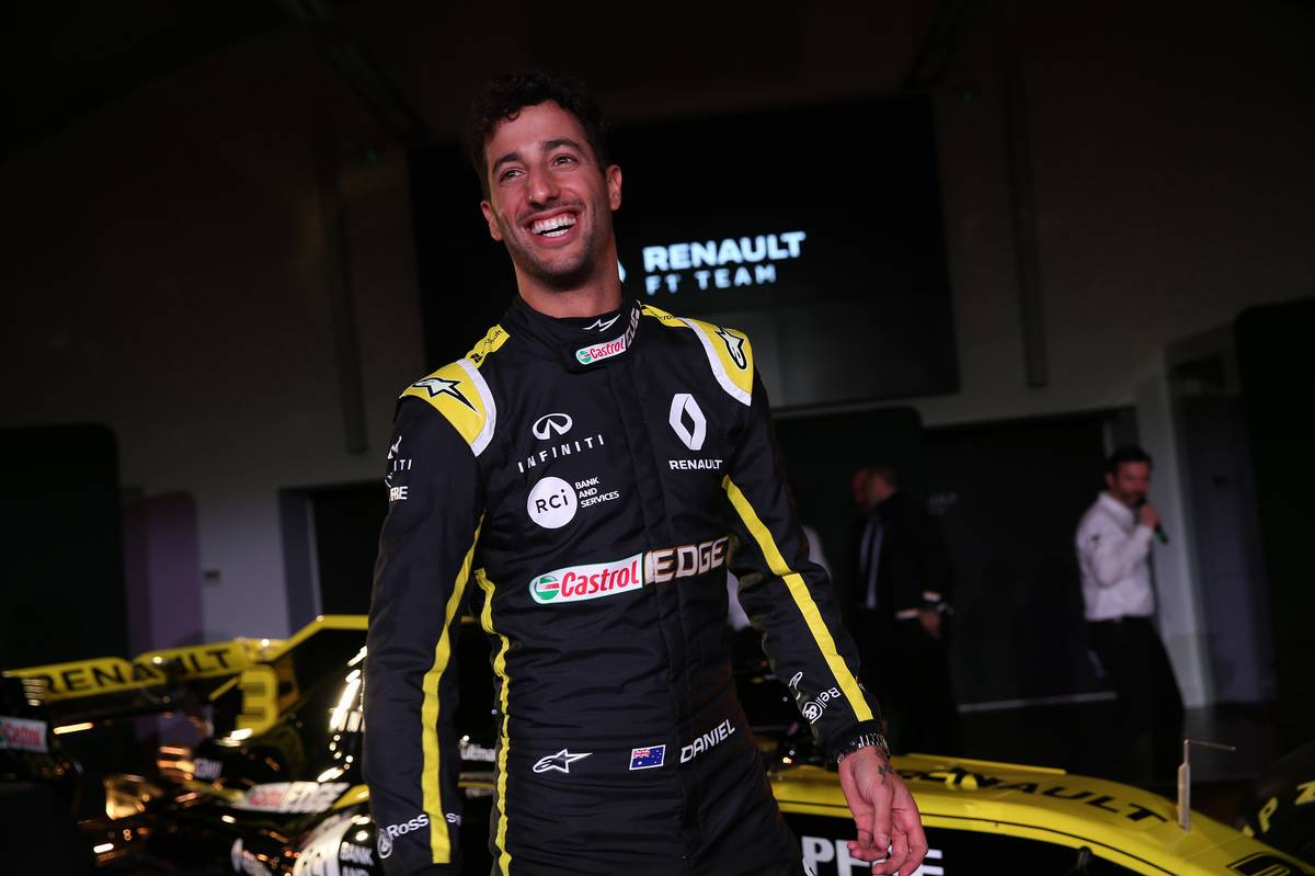 Daniel Ricciardo F1 Driver Salary 2019 Renault
