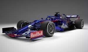 Scuderia Toro Rosso rolls out the STR14!