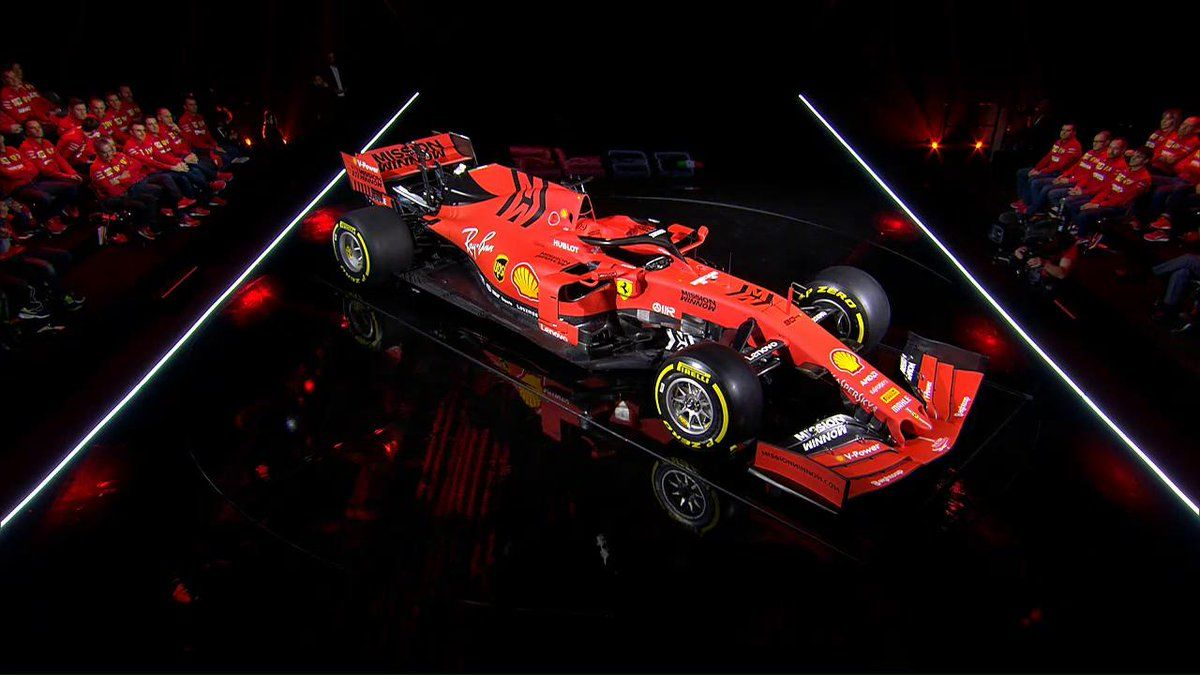 Launch Gallery Scuderia Ferraris 2019 Sf90