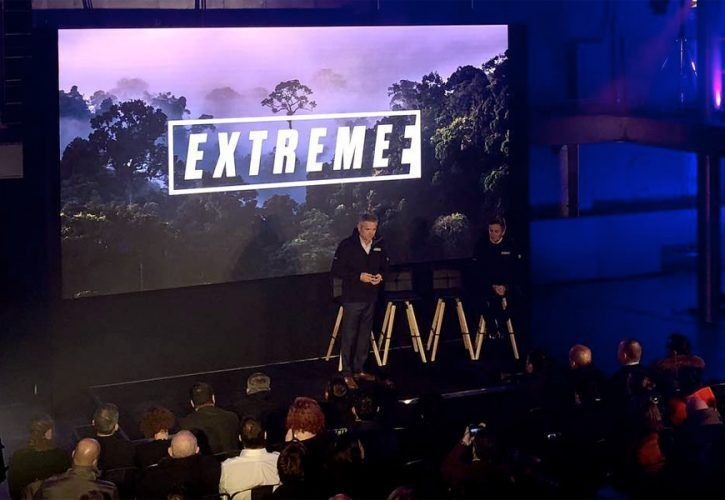 Exteme E launch event in London - January 2019.