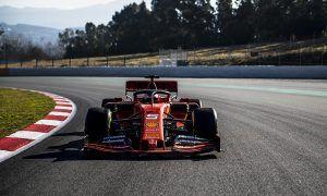 Sebastian Vettel gives Ferrari SF90 its track debut
