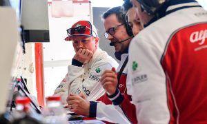 Alfa Romeo fine-tuning C38 set-up to Raikkonen's satisfaction
