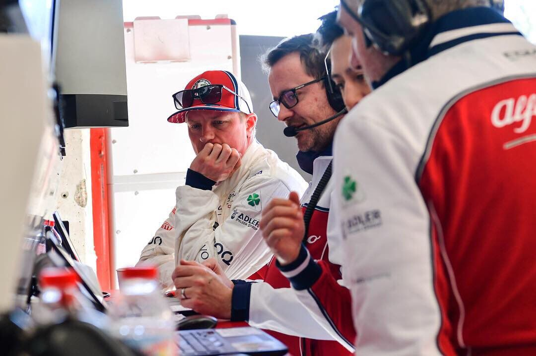 Kimi Raikkonen F1 Driver Salary 2019 Alfa Romeo