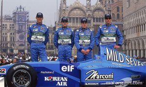 A flashy launch in Venice and four wannabee F1 winners