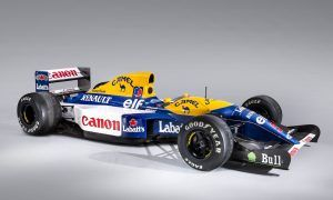 Ex-Mansell 1992 Williams FW14B to go under the hammer!