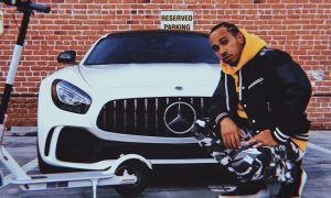 Lewis Hamilton gets his 2019 'new whip'