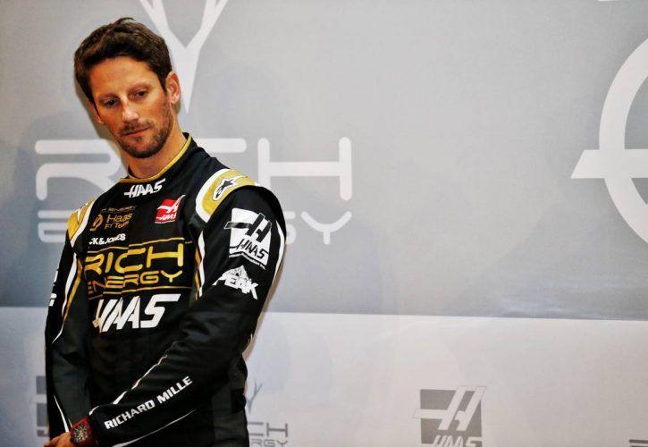 Romain Grosjean (FRA) Haas F1 Team. 27.02.2019. Haas F1 Team Livery Unveil