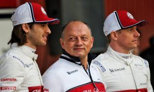 Vasseur sees 'big opportunity' ahead for Alfa Romeo Racing