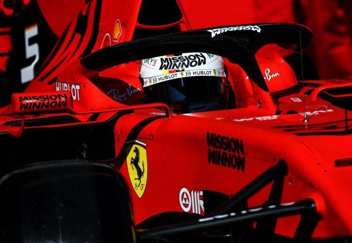 Sebastian Vettel tops opening day of pre-season testing