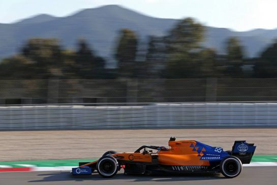 Carlos Sainz Jr (ESP), McLaren F1 Team  18.02.2019. Formula One Testing, Day One, Barcelona, Spain. Monday. - www.xpbimages.com, EMail: requests@xpbimages.com - copy of publication required for printed pictures. Every used picture is fee-liable. © Copyright: Charniaux / XPB Images