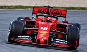 Leclerc keeps Ferrari ahead on second morning of test
