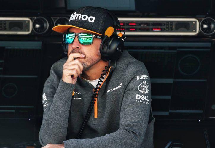 Fernando Alonso (ESP) McLaren. 27.02.2019