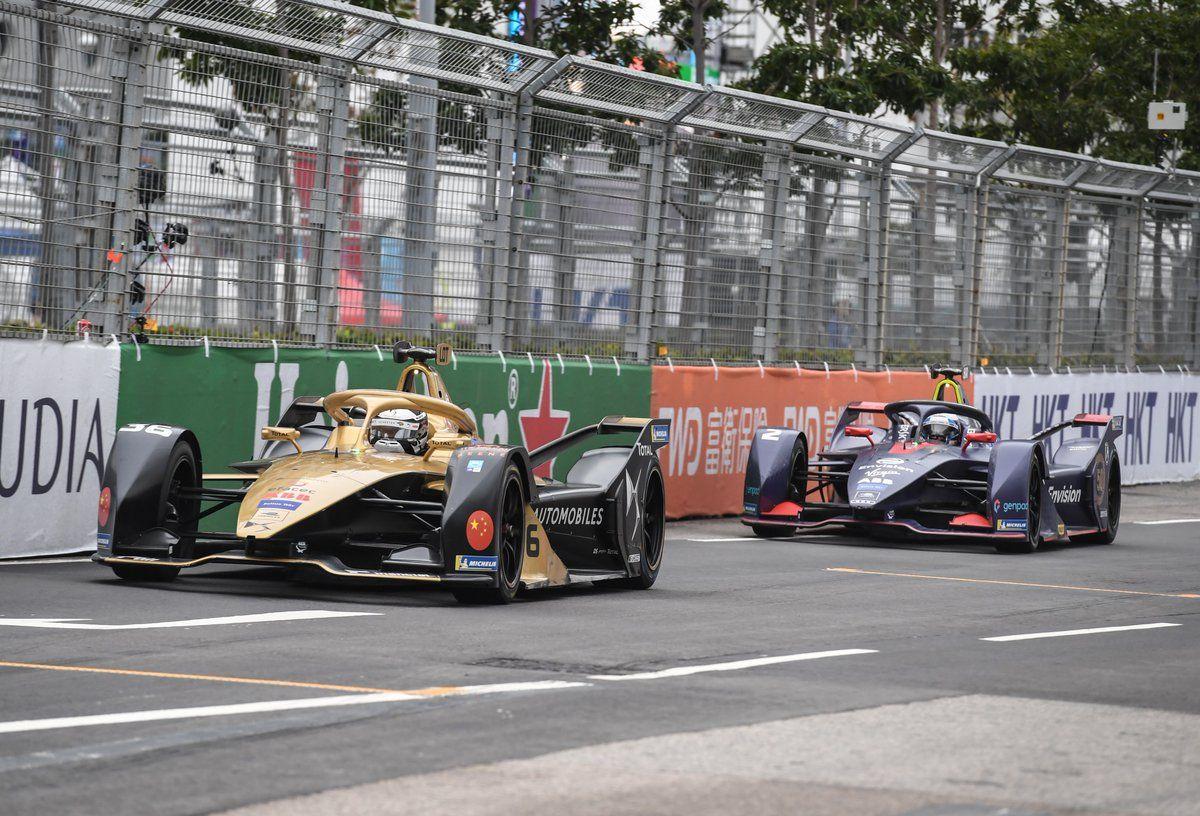 Andre Lotterer and Sam Bird - Hong Kong ePrix - March 10, 2019