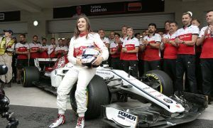 Carey aiming to 'emphasize opportunities' in F1 for female racers