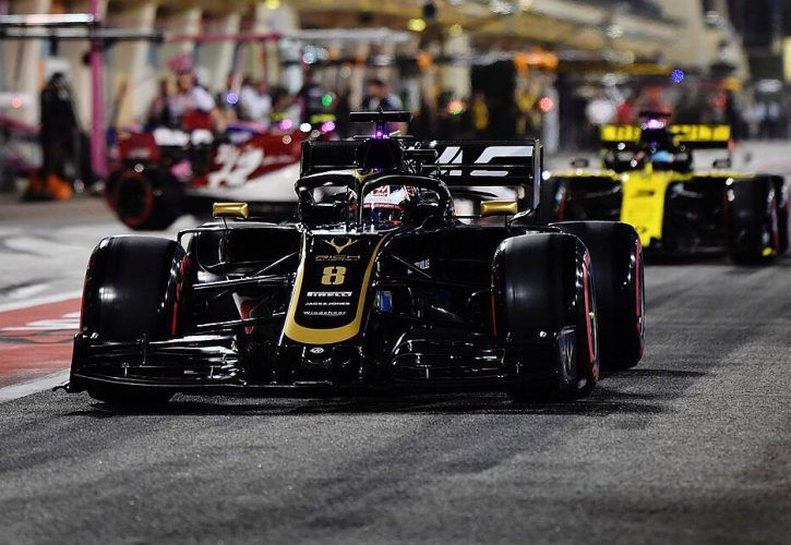 Grosjean hit with grid penalty for blocking Norris