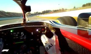 The remarkable Visor Cam experience with Kimi Raikkonen!