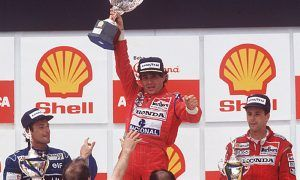 When Senna's gain was matched only by his pain