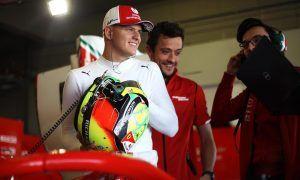 Schumacher deserves Ferrari test, but needs time - Vettel