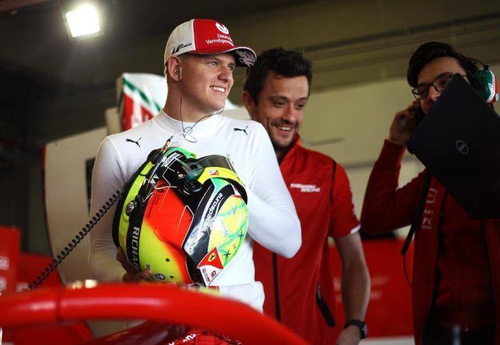 Mick Schumacher has earned Ferrari F1 test - Vettel