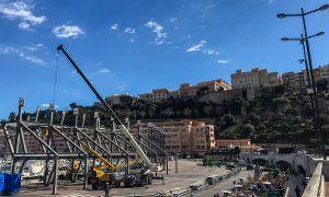Monaco begins its annual transformation