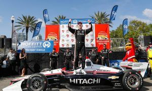 Newgarden cleans up in IndyCar series opener