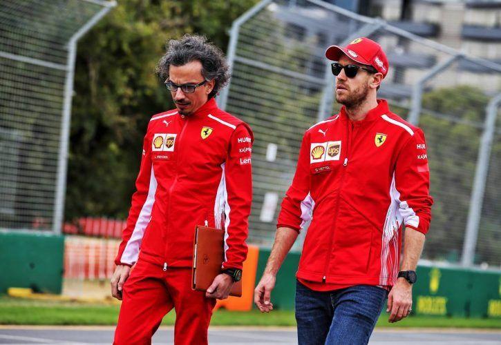 Buoyed Sebastian Vettel feels  the spirit is right  at Ferrari 66ee36a36cd