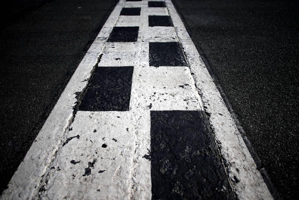 Finish line - Australian Grand Prix, Albert Park, Melbourne