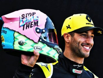 Ricciardo reveals what's behind his 'Stop Being Them' message