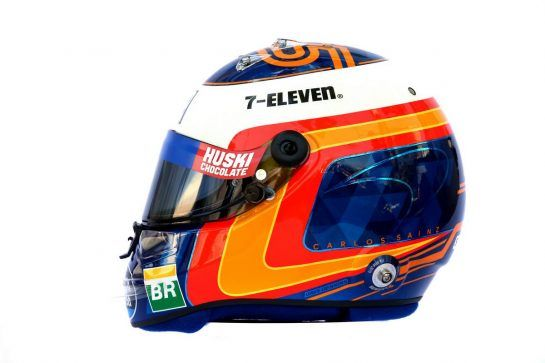 The helmet of Carlos Sainz Jr (ESP) McLaren. 14.03.2019. Formula 1 World Championship, Rd 1, Australian Grand Prix, Albert Park, Melbourne, Australia, Preparation Day. - www.xpbimages.com, EMail: requests@xpbimages.com - copy of publication required for printed pictures. Every used picture is fee-liable. © Copyright: Batchelor / XPB Images
