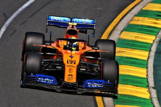 Lando Norris (GBR) McLaren MCL34.