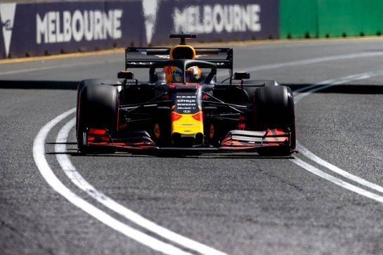 Max Verstappen (NLD) Red Bull Racing RB15. 15.03.2019. Formula 1 World Championship, Rd 1, Australian Grand Prix, Albert Park, Melbourne, Australia, Practice Day.  - www.xpbimages.com, EMail: requests@xpbimages.com - copy of publication required for printed pictures. Every used picture is fee-liable. © Copyright: Bearne / XPB Images