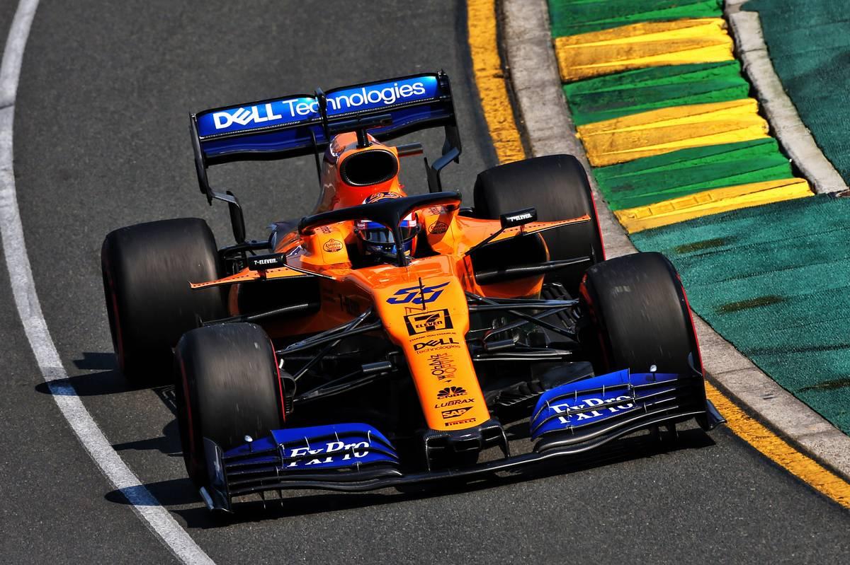 Carlos Sainz Jr Mc Laren MCL34