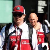 Kimi Raikonnen Alfa Romeo Racing F1 Team