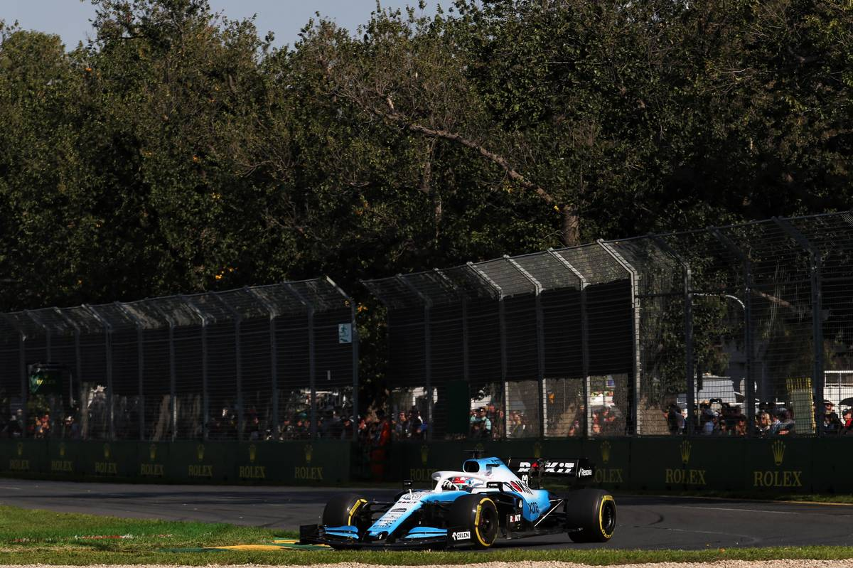 George Russell (GBR) Williams Racing FW42.
