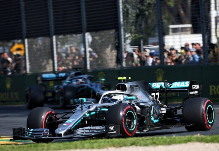 2019 Australian Grand Prix - Race results from Melbourne