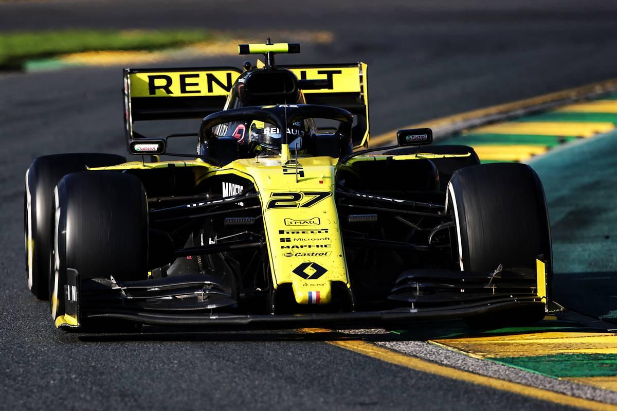 Nico Hulkenberg (GER) Renault F1 Team RS19. 17.03.2019. Fo