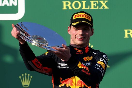 3rd place Max Verstappen (NLD) Red Bull Racing RB15.