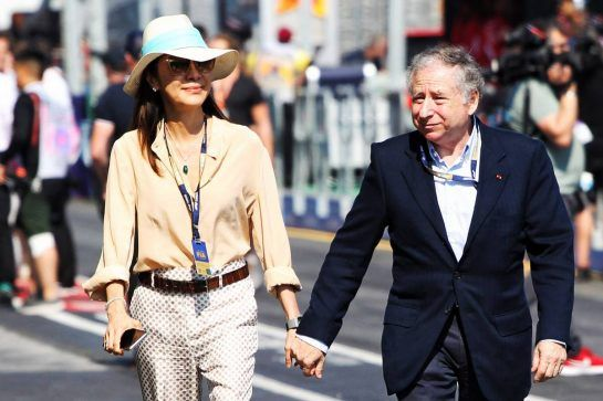 Jean Todt (FRA) FIA President with his wife Michelle Yeoh (MAL).